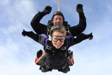 Tandem Skydive (Static Line and Accelerated Free Fall also available)