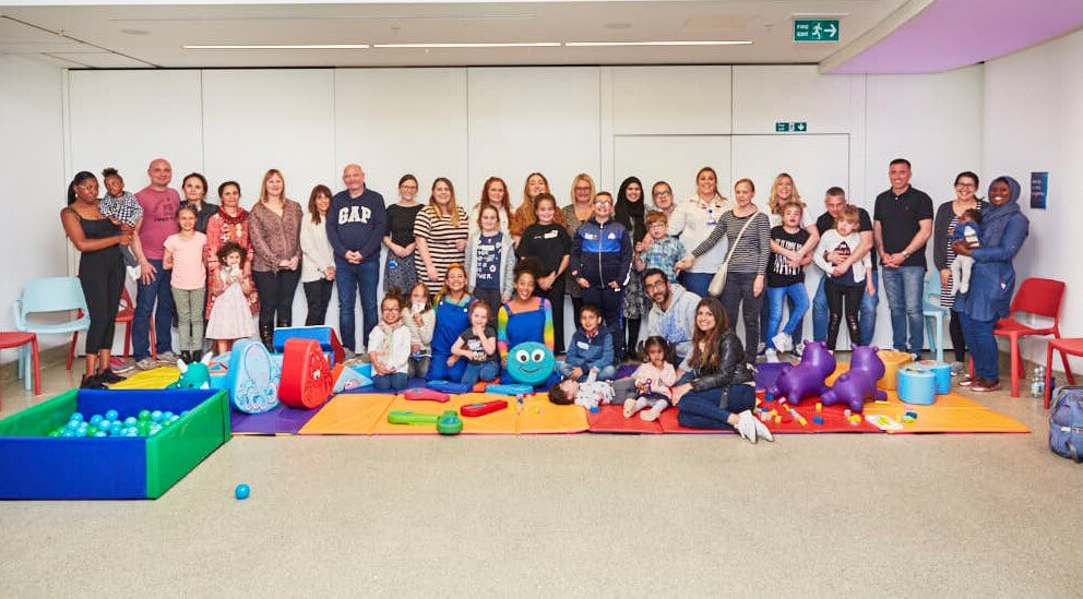The Sandcastle Trust and Great Ormond Street work together to put on a party for families affected by Lysosomal Storage Diseases